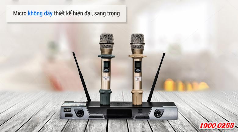 Micro không dây mang đến cho người dùng phút giây ca hát thoải máii