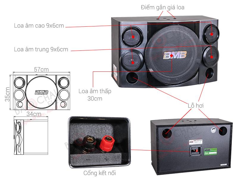 Loa BMB CSE312(SE) (bass 30cm)
