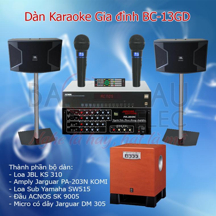 Dàn karaoke gia đình BC-13GD