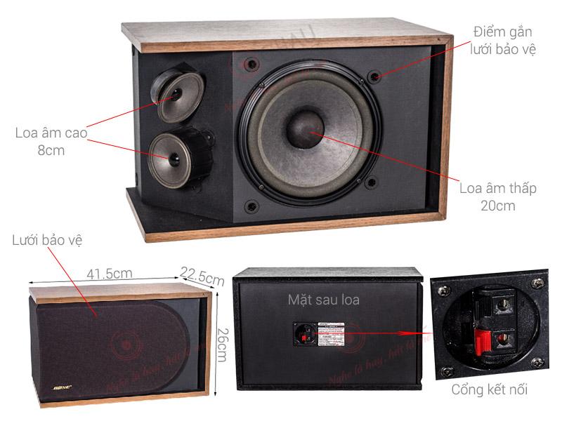 Loa Bose 4.2 Series II bãi (Vàng) (bass 20cm)