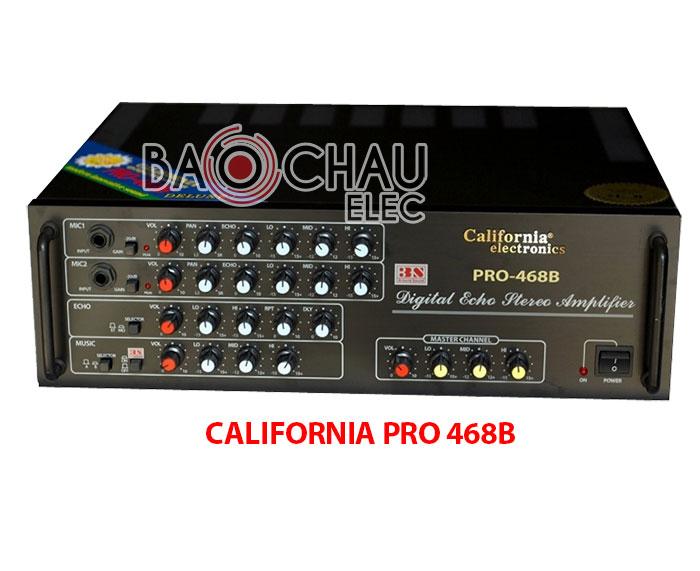 Amply CALIFORNIA PRO 468B giá tốt nhất Hà Nội tại Bảo Châu Audio