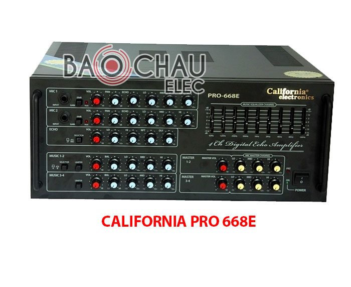 Amly CALIFORNIA PRO 668E chính hãng, giá tốt tại Bảo Châu Audio