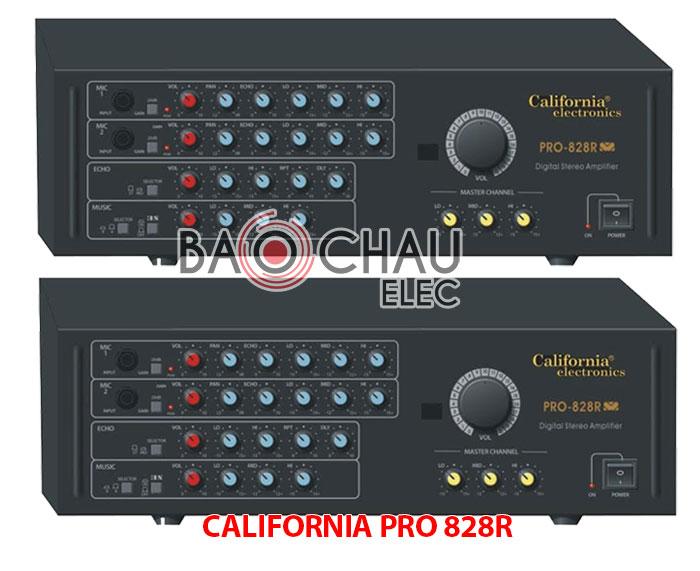 Amply CALIFORNIA PRO 828R giá tốt tại Bảo Châu Audio