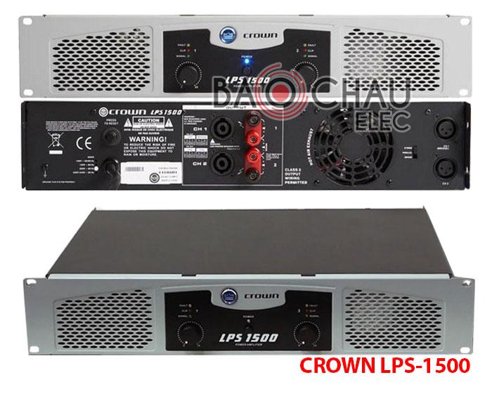Cục đẩy Crown LPS-1500