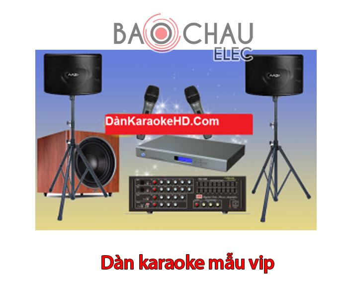 Dàn karaoke mẫu vip