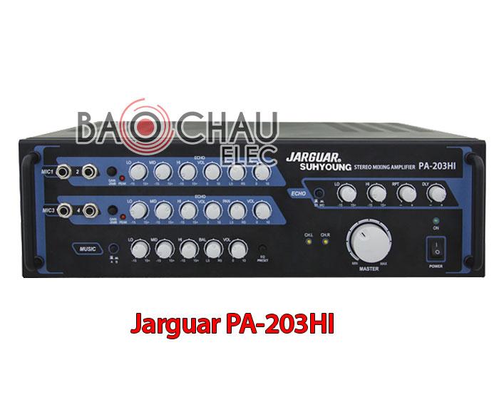 Amply Jarguar PA 203HI chính hãng, giá rẻ tại Hà Nội