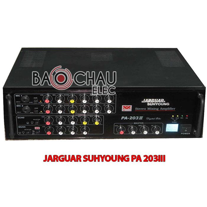 Amply Jarguar Suhyoung PA-203III do KOMI nhập khẩu mới 100%