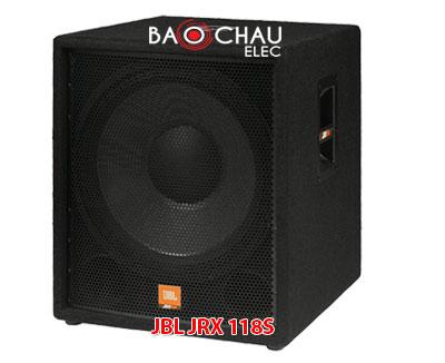 JBL JRX 118S