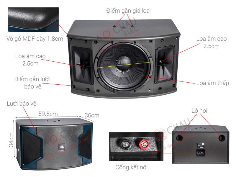 Loa Karaoke JBL Ki312 (Ba Sao) (bass 30cm)