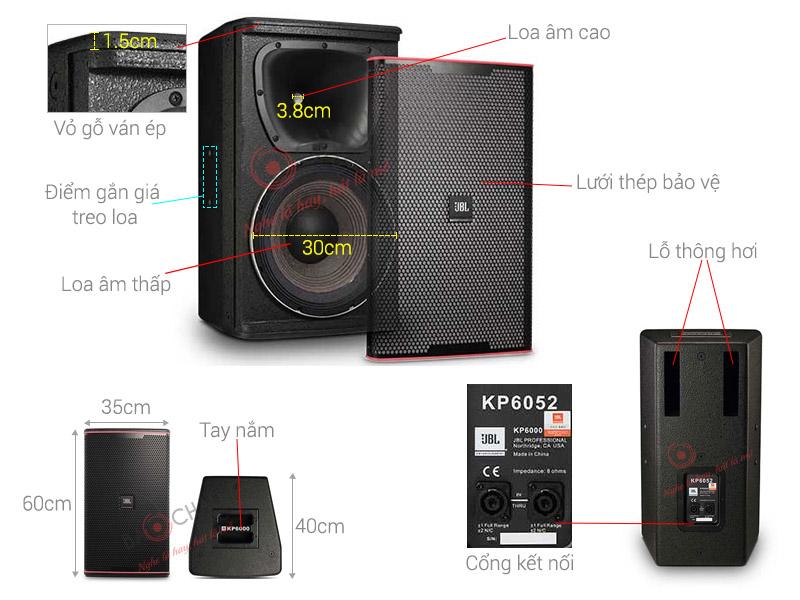 Loa Karaoke JBL KP6052 (full bass 30cm)