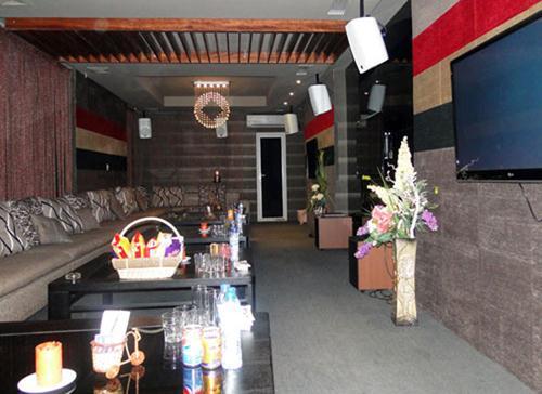 Không gian giản dị của quán Win Cafe