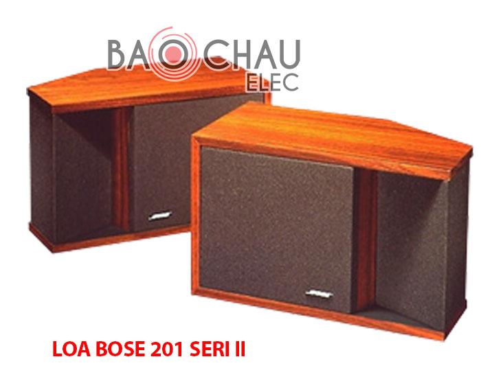 Loa bose 201 seri 2 có gì khác so với seri 1