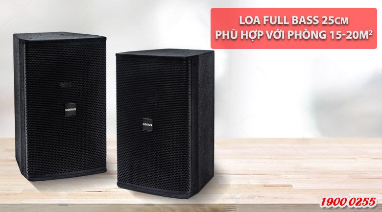 Loa Domus 6100 với phòng 15-20m