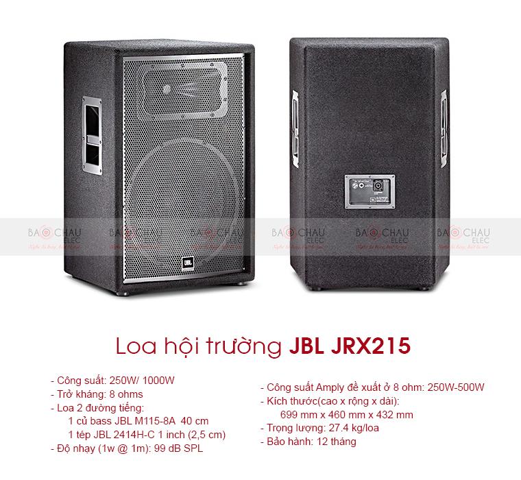 Loa sân khấu JBL JRX215