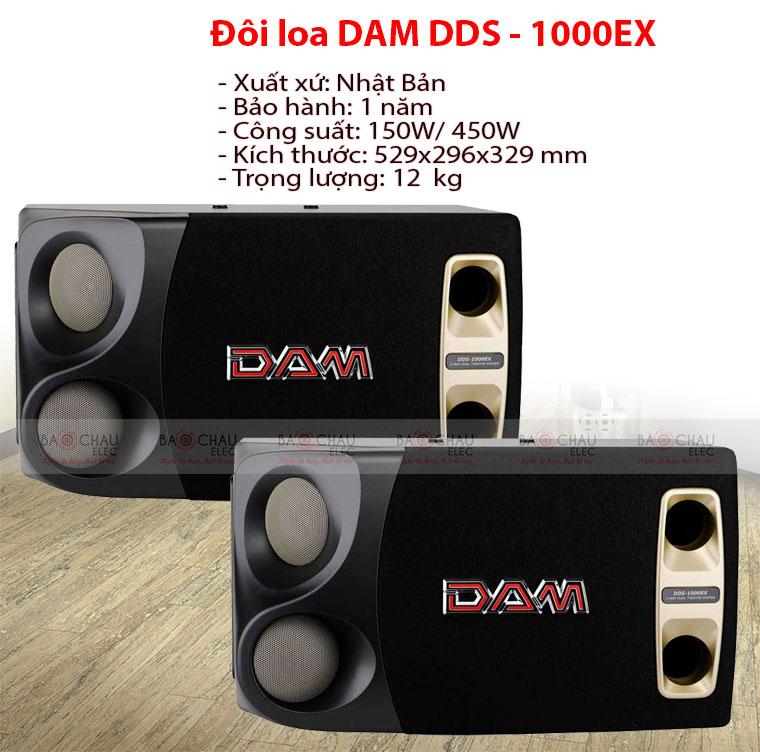 Loa DAM DDS-1000EX