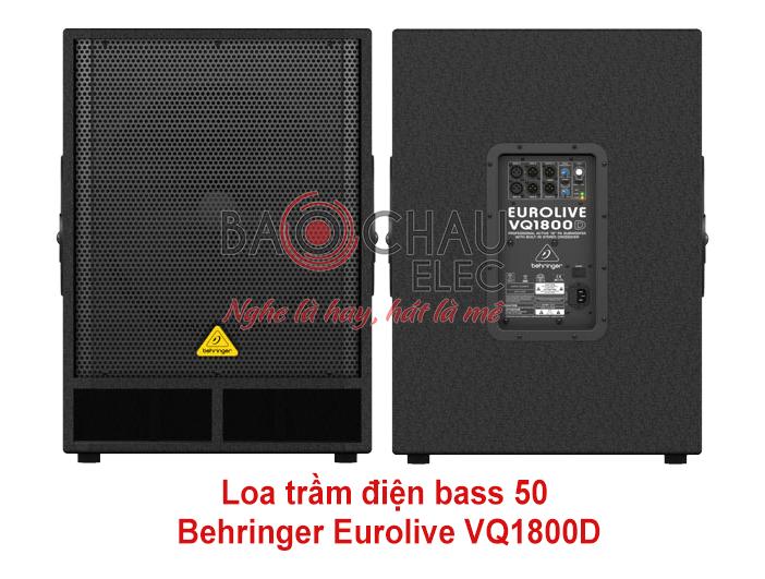 Loa trầm điện Behringer Eurolive VQ1800D