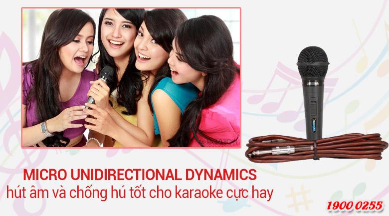 Micro có dây giá rẻ, truyền tín hiệu rất ổn định