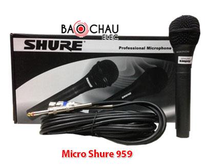 Micro Shure 959