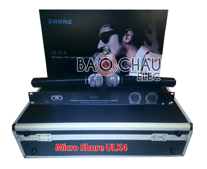 Micro Shure ULX4