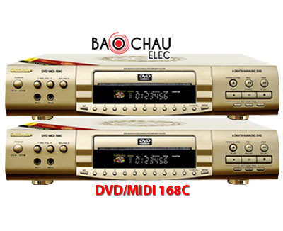 DVD/MIDI 168C