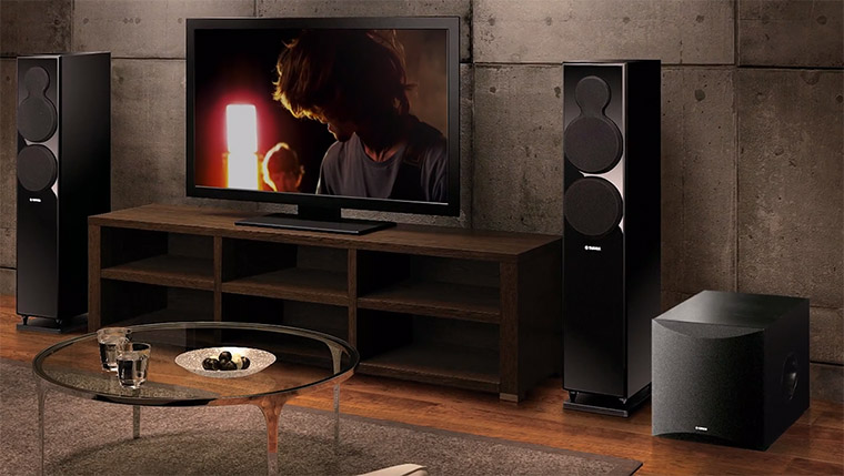 Loa sub Yamaha đáp ứng tốt nhu cầu ca hát, nghe nhạc cũng như xem phim