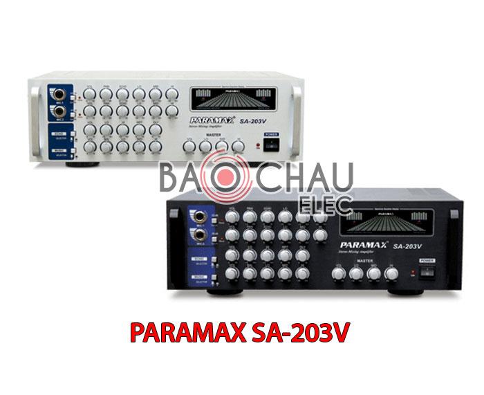 PARAMAX SA-203V