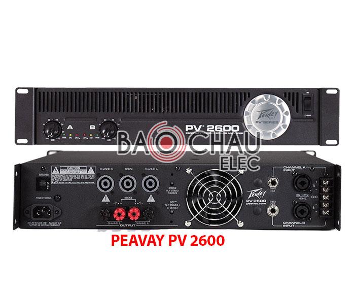PEAVAY PV 2600