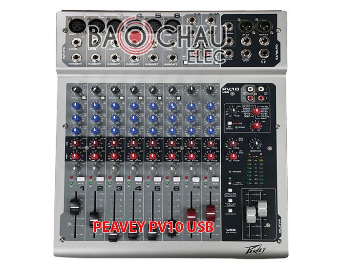 Mixer PEAVEY PV10 USB