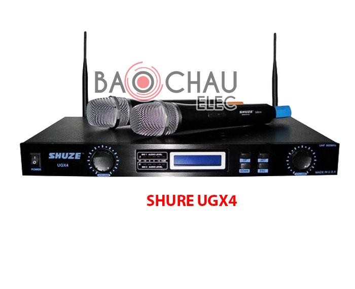 Micro karaoke Shure UGX4