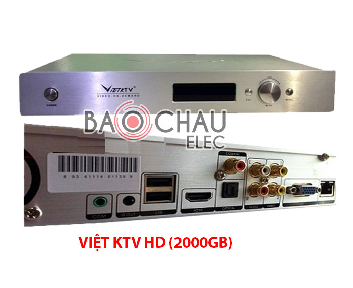 Đầu karaoke Việt KTV HD (2000GB)