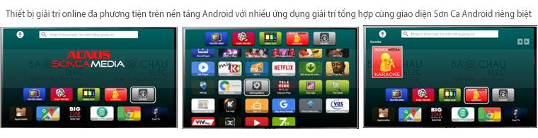 Đầu Acnos Mini Karaoke Wifi HD KM4 - ứng dụng Acnos Android