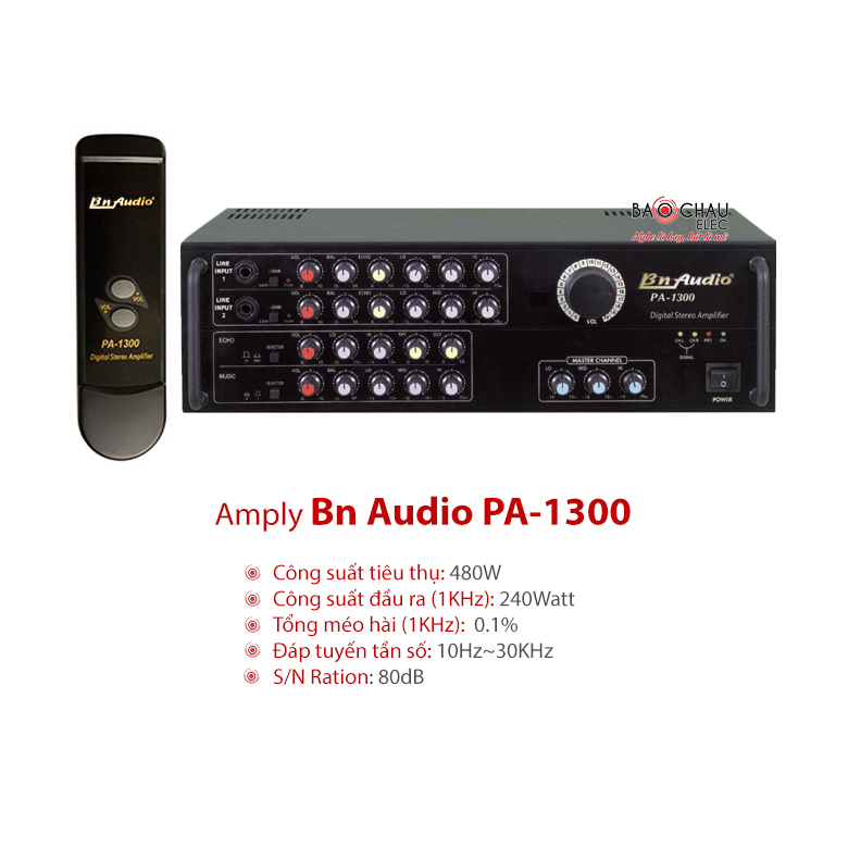 Amply karaoke Boston PA 1300