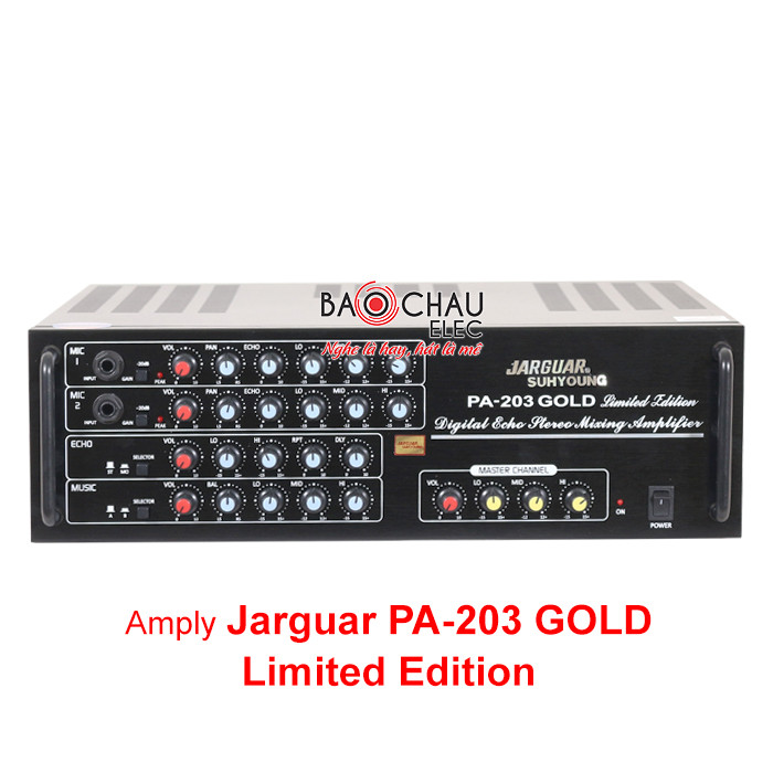 Amply Jarguar 203 Gold Limited Edition
