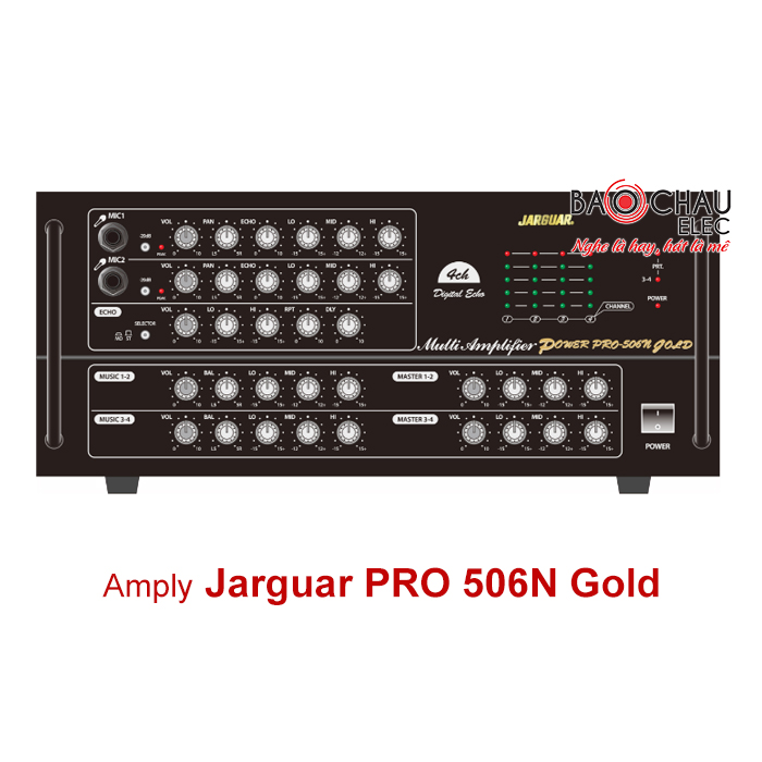 Amply Jarguar Pro 506N Gold 3000W