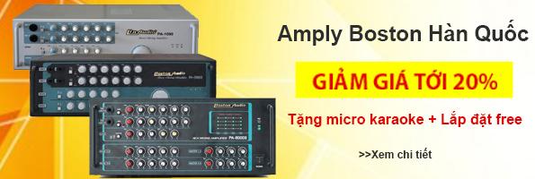 Amply Boston audio giảm giá