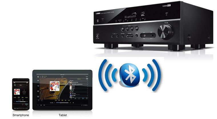 Amply Yamaha RX-V385 kết nối Bluetooth