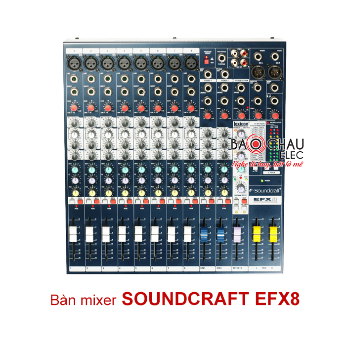 Mixer Soundcraft EFX8 (Loại 1)