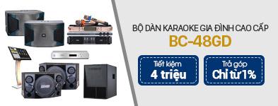 Dàn karaoke cao cấp BC-48GD