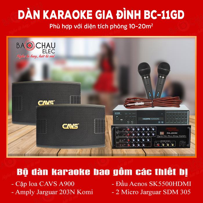 Bo dan karaoke BC-11GD