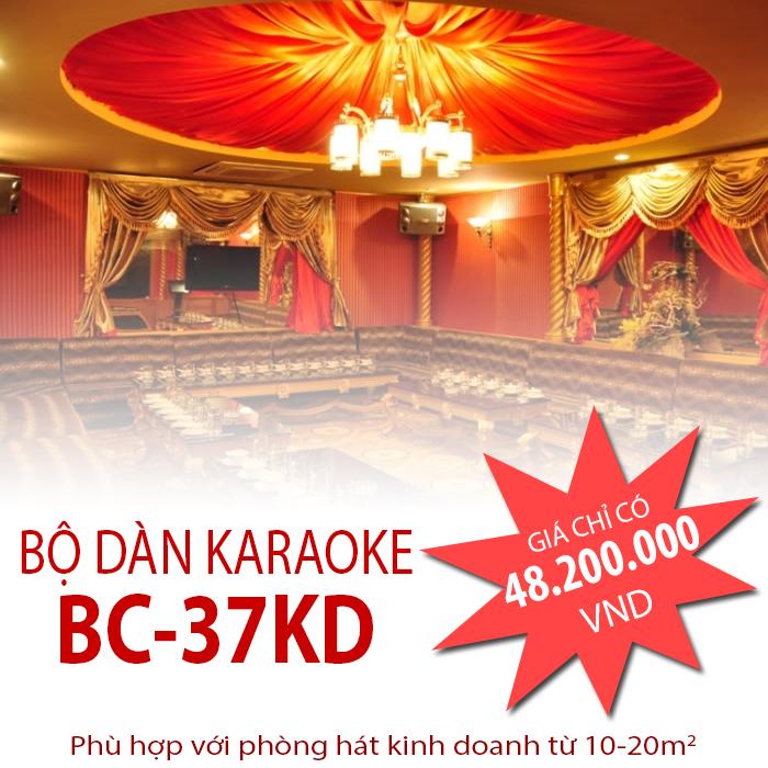 Bộ dàn karaoke kinh doanh BC-37KD