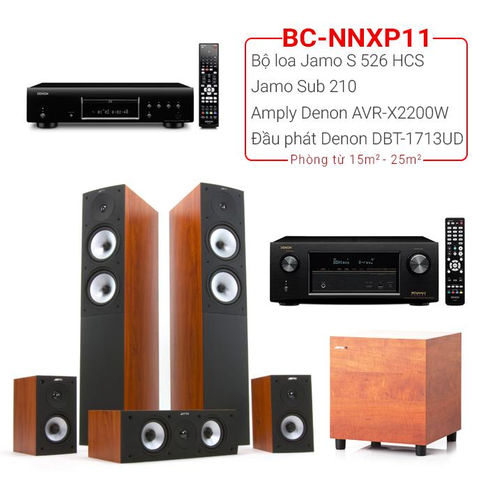 Dàn nghe nhạc, xem phim BC-NNXP11 (15m2-25m2)
