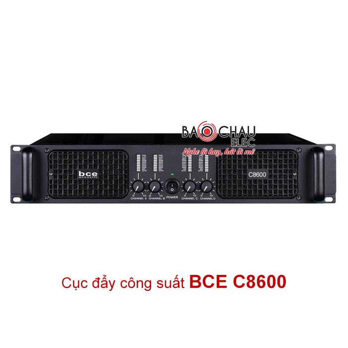 Cục đẩy công suất BCE C8600 giá tốt nhất