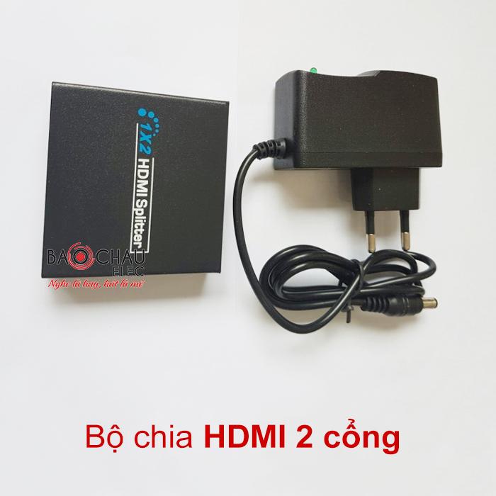 Bộ chia tín hiệu HDMI 2 cổng