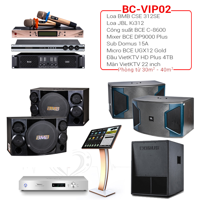 Bộ dàn BC-VIP02