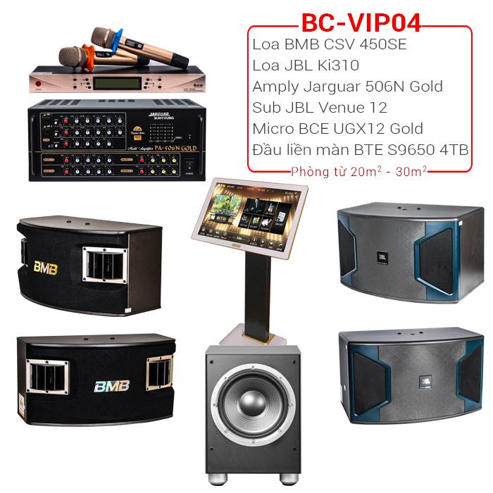 Dàn karaoke cao cấp BC-VIP04 2018