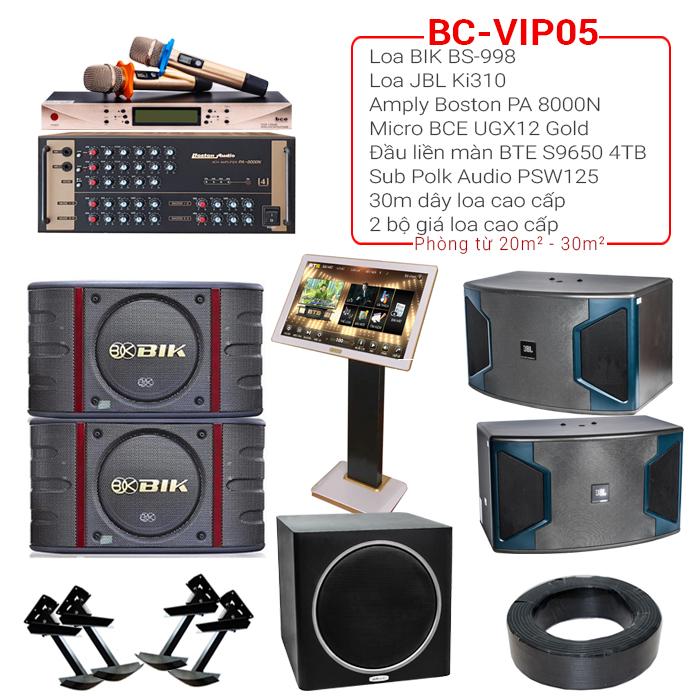 Dàn karaoke cao cấp BC-VIP05 2018