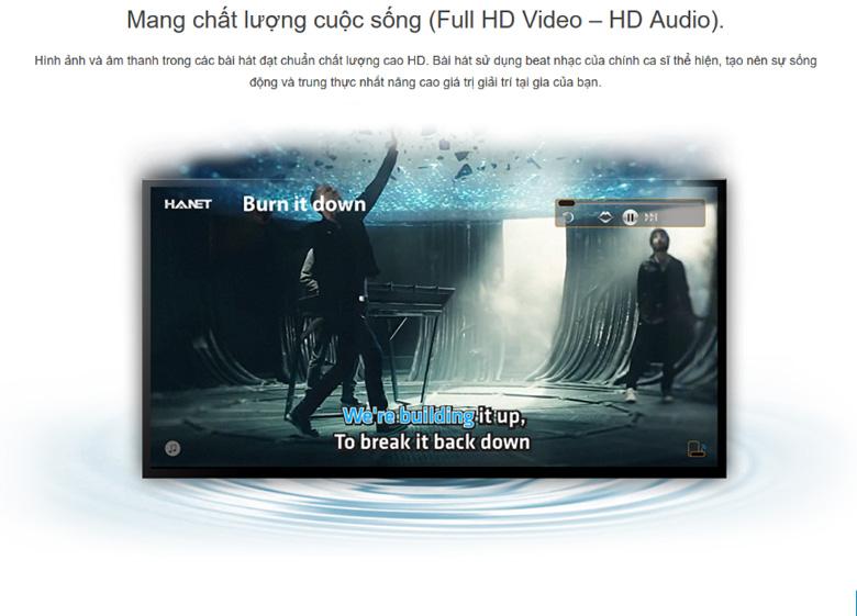 Combo Đầu karaoke Hanet PlayX One 4TB + Smartlist chính hãng