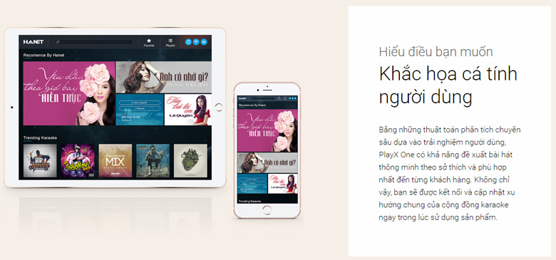 Combo Đầu karaoke Hanet PlayX One 4TB + Smartlist giá rẻ