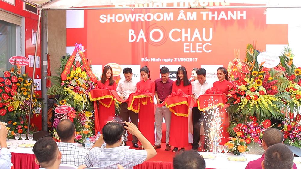 Bảo Châu Elec tưng bừng khai trương showroom Bắc Ninh