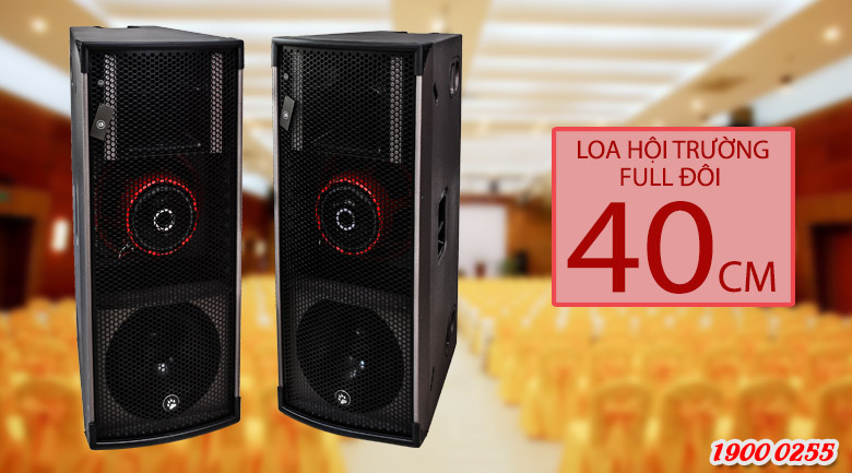 Loa Cat King Pro2.5 (Full đôi 4 tấc)